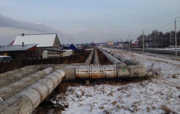 Магистральная тепловая сеть №4 от ТЭЦ-9  в г. Ангарске