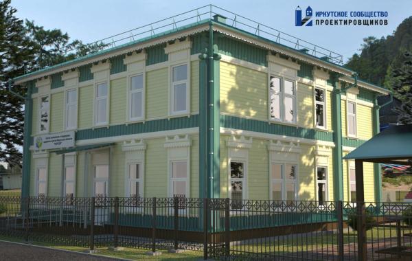 Капитальный ремонт спального корпуса в п. Листвянка